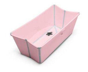 Banheira Dobrável Flexi Bath Rosa Stokke