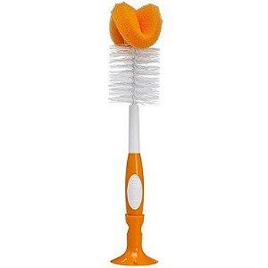 Escova para Limpeza de Mamadeira Laranja Dr. Brown's
