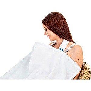 Capa para Amamentação Branco Kababy