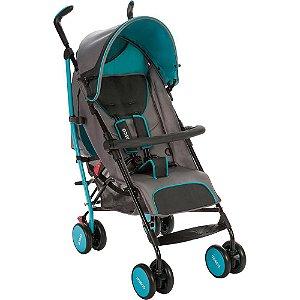 Carrinho de Bebê Umbrella Ride Azul Aqua Cosco