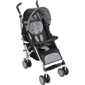 Carrinho de Bebê Umbrella Ride Preto Carvão Cosco