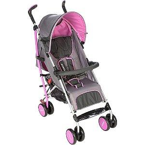 Carrinho de Bebê Umbrella Ride Rosa Dalia Cosco