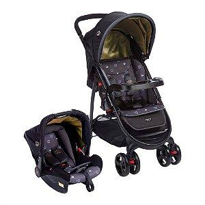 Carrinho de Bebê Travel System Nexus Preto Cosco