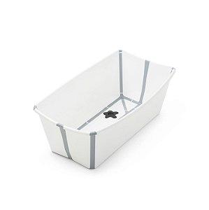 Banheira Dobrável Flexi Bath Branco Stokke