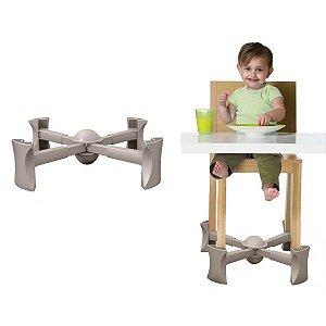 Base Extensora Portátil para Cadeiras Cinza Kaboost