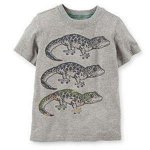 Camiseta Cinza Lagarto Carter's