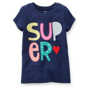 Camiseta Azul Super Carter's