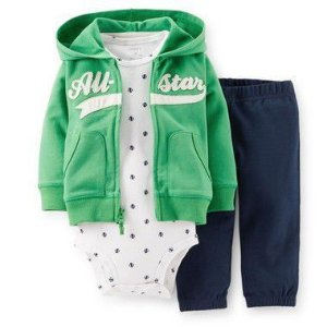 Conjunto Verde e Branco All-star Carter's