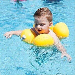 Boia Infantil Almofada Octopus Amarelo - Baby Pil