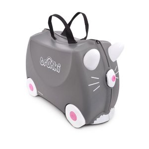 Mala Infantil com Rodinhas e Alças Benny the Cat Trunki
