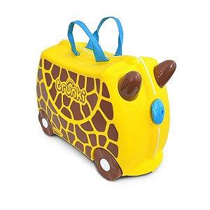 Mala Infantil com Rodinhas e Alças Giraffe Gerry Trunki