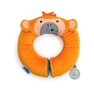 Almofada Infantil de Pescoço para Viagens Macaco Trunki