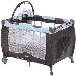Berço Portátil Toybar c/ Mosquiteiro Azul Cosco