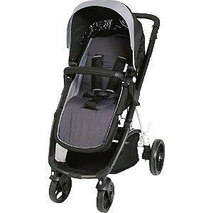 Almofada para Carrinho De Bebê Comfi Cush Cinza Clingo