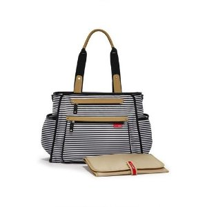 Bolsa Maternidade Grand Central Black Stripe - Skip Hop