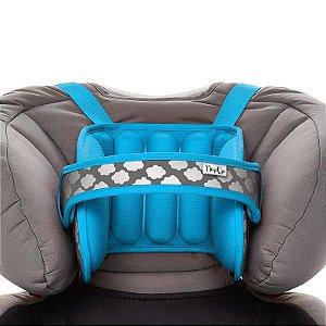 Apoio de Cabeça Infantil Para Assento de Carro Azul - Napup