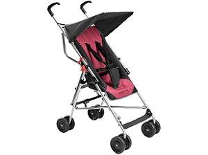 Carrinho de Bebê Guarda-Chuva Pocket Rosa Multikids