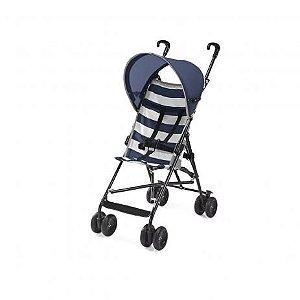 Carrinho de Bebê Guarda-Chuva Navy Azul Multikids