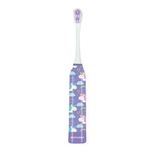 Escova Dental Elétrica Unicórnio Kids Health Pro Multilaser