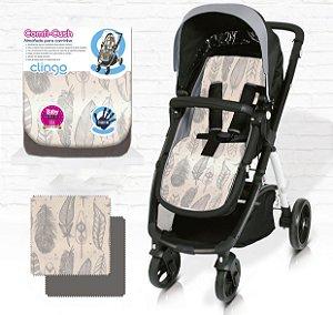 Almofada para Carrinho De Bebê Comfi Cush Penas Clingo