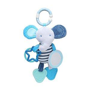 Móbile de Atividades de Pendurar Elefante Azul - Storki