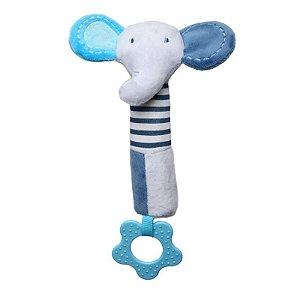 Pelúcia Multisensorial Elefante Azul - Storki
