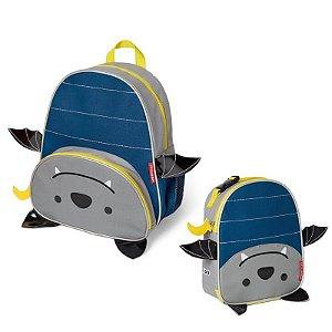Mochila e Lancheira Infantil Escolar Zoo Morcego - Skip Hop
