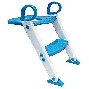 Redutor de Assento Infantil Com Degrau Azul - Clingo