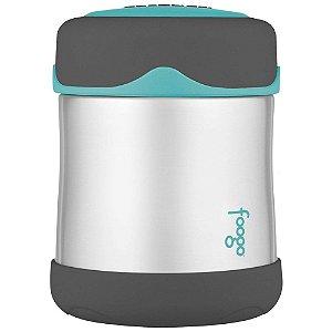 Pote Térmico Foogo Cinza e Azul 290ml - Thermos
