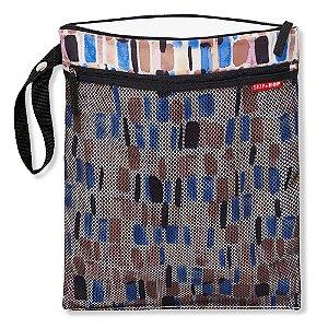 Bolsa Impermeável para Roupas Secas e Molhadas Pincelada Wet & Dry Bag - Skip Hop