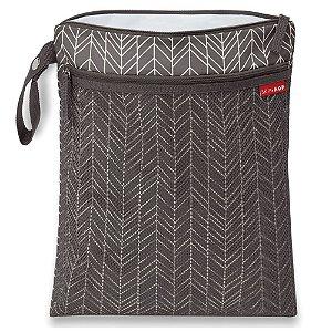 Bolsa Impermeável para Roupas Secas e Molhadas Cinza Wet & Dry Bag - Skip Hop