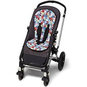 Almofada Forro para Carrinho De Bebê COOL TOUCH Prisma Triângulos  - Skip Hop