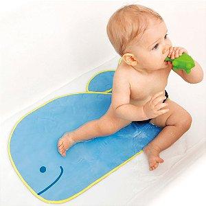 Tapete De Banho Antiderrapante Infantil Baleia Moby - Skip Hop