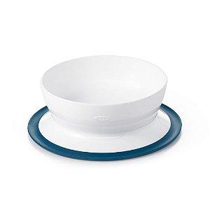 Tigela com Ventosa Sucção Infantil Azul - Oxo Tot