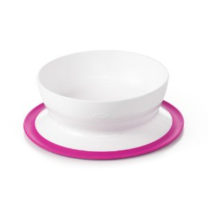 Tigela com Ventosa Sucção Infantil Rosa - Oxo Tot