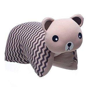 Travesseiro Infantil Bichinho Ursinho Zeca - Baby Pil
