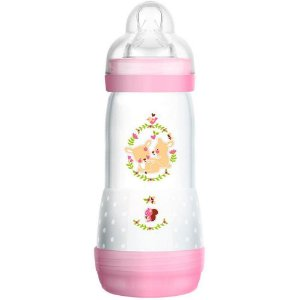Mamadeira First Bottle Girls 320ml - Mam Baby