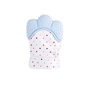 Luva Mordedor Infantil Azul - Girotondo Baby