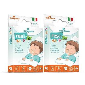 Kit 2 Resliv Kids Adesivo Descongestionante - Babydeas