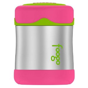 Pote Térmico Foogo Rosa e Verde 290ml - Thermos