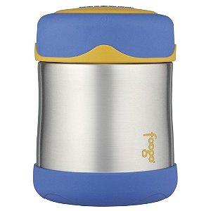Pote Térmico Foogo Azul e Amarelo 290ml - Thermos