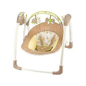 Cadeira de Balanço Automática Com Timer Animais Do Jardim - Mastela