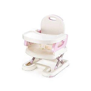 Cadeira De Alimentação Infantil Premium Flexivel Rosa - Mastela