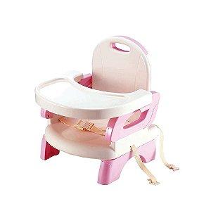 Cadeira De Alimentação Infantil Flex Rosa - Mastela