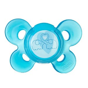 Chupeta Physio Confort Azul Tamanho 2 (6-12m) - Chicco