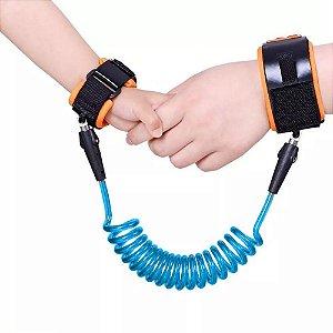 Pulseira Guia para passeio infantil Azul - Clingo