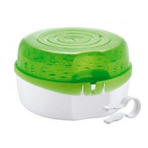 Esterilizador a Vapor de Microondas para Mamadeiras e Acessórios - Mam Baby