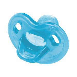 Chupeta Sensitive Soft 100% Silicone Azul Tam.2 (6 meses+) - NUK