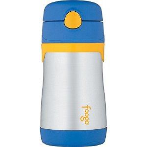 Garrafinha Térmica Foogo Azul e Amarelo 290ml - Thermos