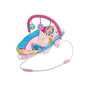 Cadeira de Descanso Infantil Musical e Vibratória Reclinio Rosa - Mastela